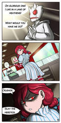 Dumb Wendy's Comic Strip by HenLP