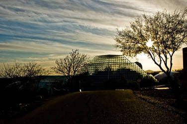 Sun Falls on the Biosphere by Vagrant123