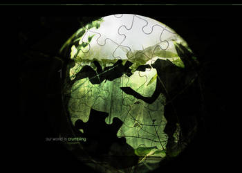 our world is crumbling by forever-simplicity