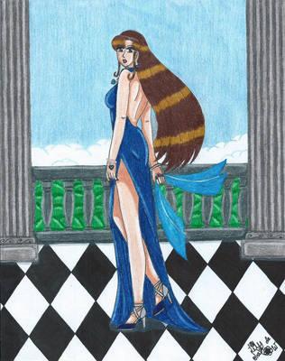 Beautiful Lady by Lily-de-Wakabayashi