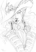Pirate Captain Rose v2 by Cofie