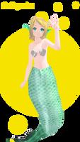 Rin mermaid DL! by Galaktika537
