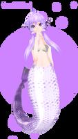 Yukari mermaid DL! by Galaktika537