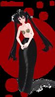 Zatsune Miku mermaid DL! by Galaktika537