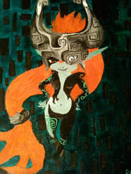 Midna Chibi by ClandestineOnigiri95