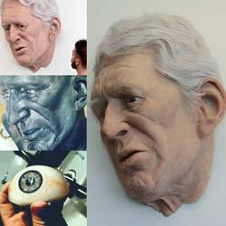Giant bust by stalker-switzer