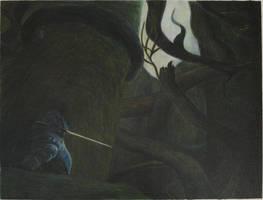 Dark Souls - FUCKING TREES... man...! by FiragaShark