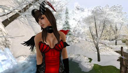 Winter Scene by Solbrio