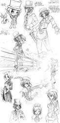 Flyff Sketch Dump by Artoki
