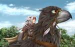 Following the Wind by Artoki