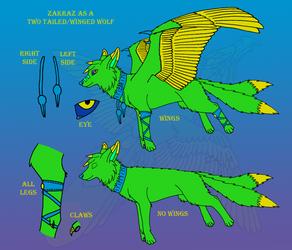 Zakraz - Winged Wolf by Zakraz