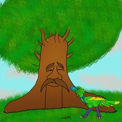 What an odd looking tree by Zakraz