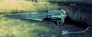Final Fantasy VIII Gunblade by gerodere