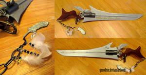 FFVIII: Steampunk gunblade by gerodere