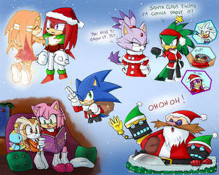 -STH Christmas Doodles- by Biko97