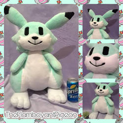 Louie (Bomberman Hero) Giant Plush by TheFlamboyantPigeon