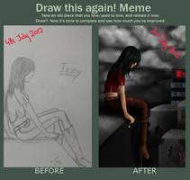 Draw this again meme by Lalliebear