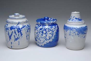 Fabric Jars by sonkette