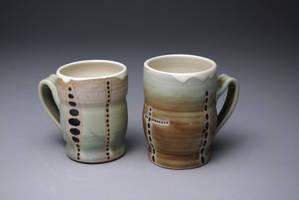 Green mugs by sonkette