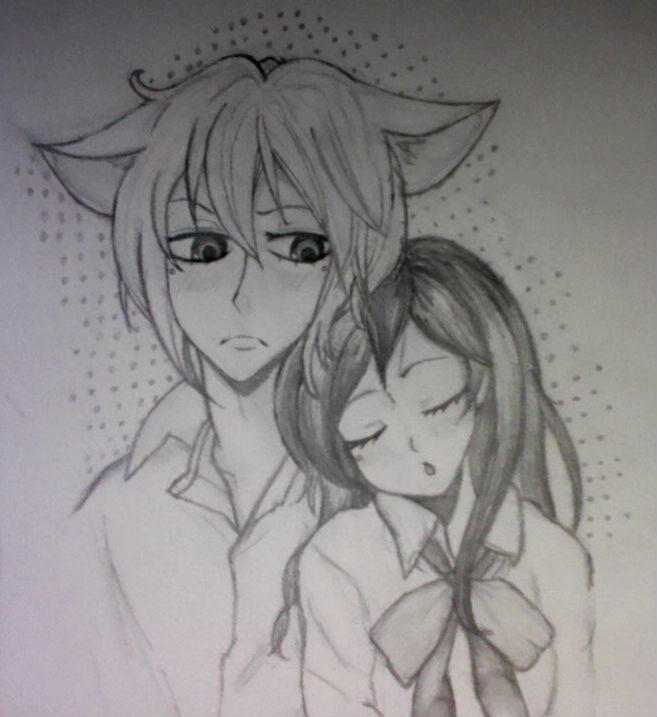 Tomoe x Nanami by JustExists