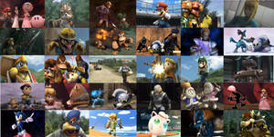Super Smash Bros. Brawl wallpaper by BlazingTyphlosion