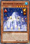 Snowman Fortress by BDSceptyr