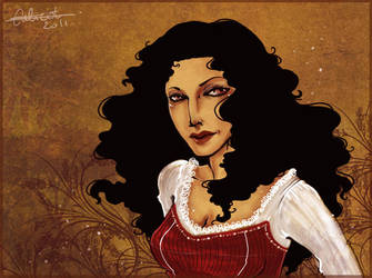 ArtTrade - The beautiful Lena by Calicot-ZC