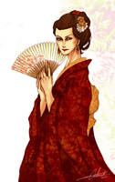 Isabelle Ta Kae - Japan by Calicot-ZC