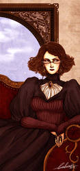Mrs Marraubin - Spring Portrait by Calicot-ZC