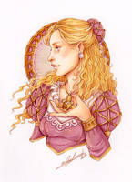 COMM MARKERS WAIST-UP ~ Lady in Pink by Calicot-ZC