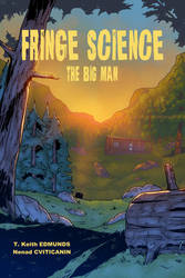 Fringe Science: The Big Man #1 cover - colors by ZethKeeper