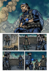 Raptors: The Metahuman Conspiracy page 5 - colors by ZethKeeper