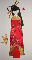 Japanese Paper Doll by DemetTavsan