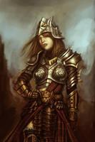 The Lady 2 by Dandzialf