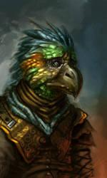 Bird by Dandzialf