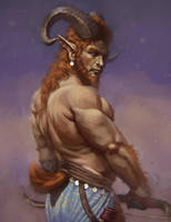 Satyr by Dandzialf