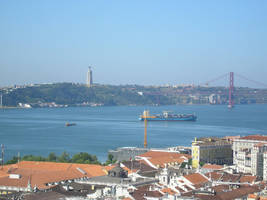Photo- view of Lisbon 2 by Leo-McCarthy