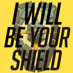 I Will Be Your Shield by The-Golem-Armada