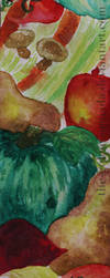 Vegetables Bookmark 1 by The-Golem-Armada