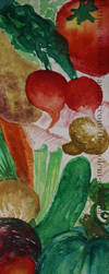 Vegetables Bookmark 2 by The-Golem-Armada