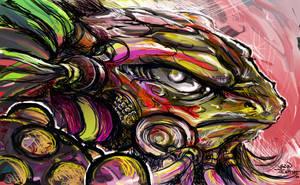 meta- sabian reptile by Jesther101