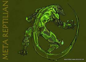 Meta Reptilian by Jesther101