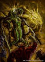 Meta Reptilian Summnoning by Jesther101