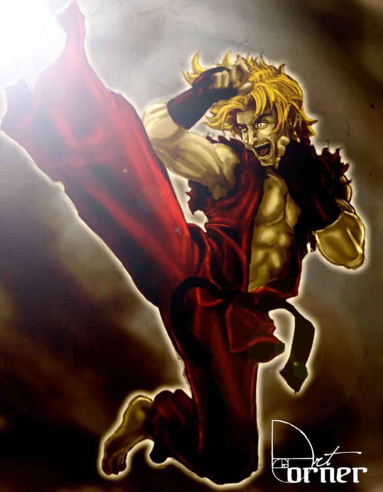 Street Fighter Ken by Jesther101