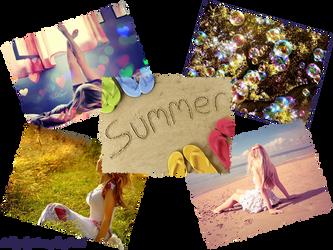Summer Collage by Tsera-aka-Dorsel