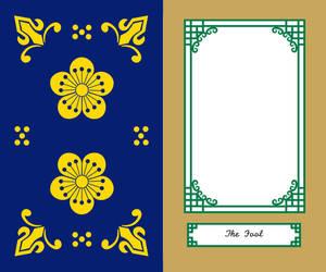 Korean Tarot Card Border Major Arcana by kimyoonmi