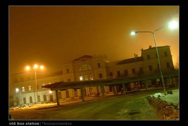 Old bus station by buzzpotamkin
