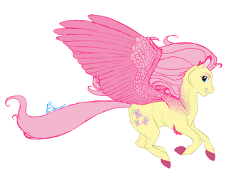 Fluttershy Flight by fyrewhisp