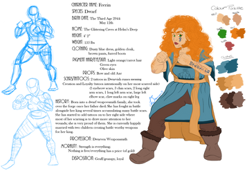 Female Dwarf- Frerin (VIDEO) by fyrewhisp
