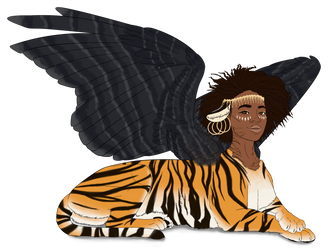 African Sphinx by fyrewhisp